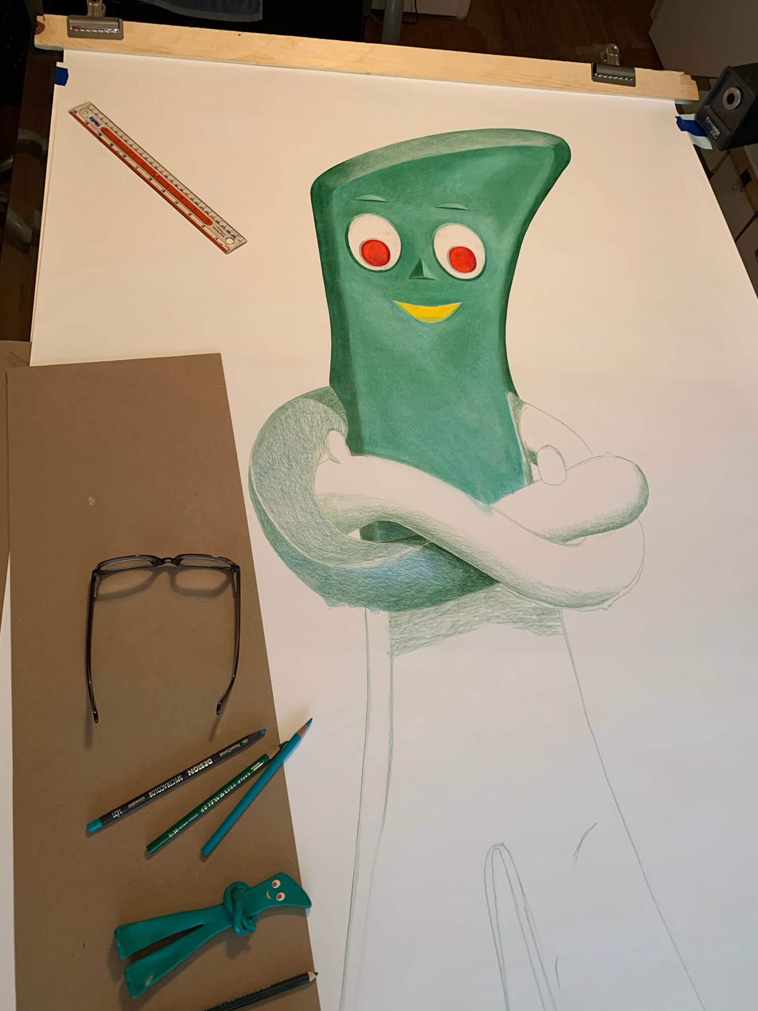 Detail image of Gumby by Michael Pitzer
