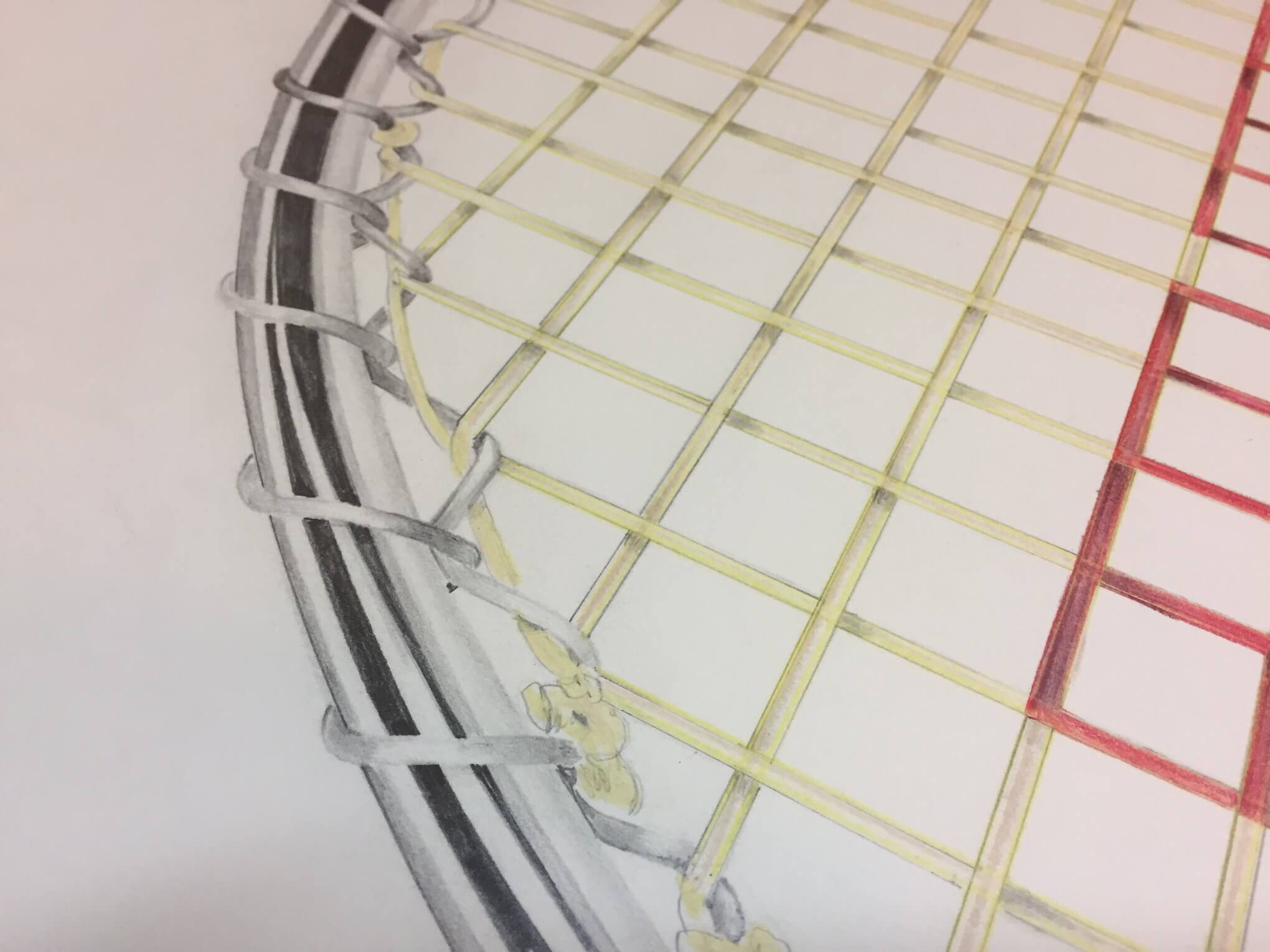 Wilson T2000 Tennis Racquet detail by Michael Pitzer